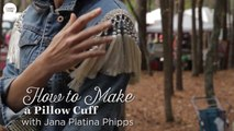 This Easy Pillow Cuff DIY Will Transform Any Pillow