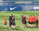 PSG - Neymar bien présent à l'entraînement