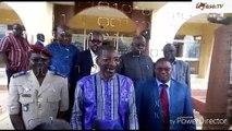 Assemblée nationale  La commission d'élaboration de la politique de sécurité nationale consulte Bala Sakandé