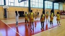 Images du Martigues Sport Basket lors du match MSB SMUC