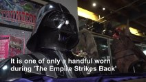 Darth Vader helmet among Hollywood treasures in $10 mn auction
