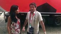 Héctor Urrego (Antena 2) analiza la  situación de Quintana y Valverde en el Movistar