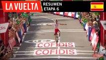 Resumen - Etapa 6   La Vuelta 19