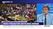 Grande Bretagne: une vague d'indignation contre Boris Johnson