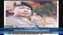 Kodam Sriwijaya Beri Kenaikan Pangkat untuk Serda Rickson