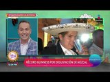 Zacatecas rompe el Récord Guiness por degustación de mezcal | Sale el Sol