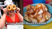 Hey Y'all - Krispy Kreme Bread Pudding