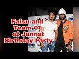 TikTok star Faisu and team 07 at Jannat Zubair's birthday bash
