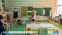 Rentrée scolaire : l'augmentation de 300 euros annoncée par Jean-Michel Blanquer passe mal auprès des enseignants