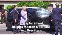 Brigitte Macron remercie les Brésiliens qui la soutiennent