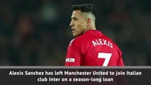 Breaking News - Sanchez leaves United for Inter loan