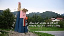 Slovenian village divided over Trump 'statue of liberty'