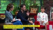 ¡Sebastián Zurita deja al descubierto su TALENTO y su ANATOMÍA en una serie! | Ventaneando