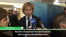 Ronaldo should have won Player of the Year - Nedved