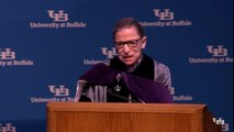 Ginsburg Makes First Public Appearance After Cancer Treatment