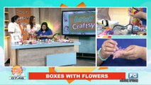 ARTSY CRAFTSY: Boxes with flowers