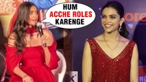 Sonam Kapoor SUPPORTS Deepika Padukone On Smart Choice Of Roles | The Zoya Factor Trailer Launch