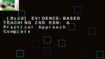 [Read] EVIDENCE-BASED TEACHING 2ND EDN: A Practical Approach Complete