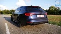 Audi RS4 B9 MILLTEK EXHAUST Sound LOUD! Revs & ONBOARD by AutoTopNL