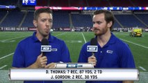 Demaryius Thomas Shines As Patriots Wrap Up Preseason Vs. Giants