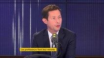"""Réforme du lycée : """"J'ai du mal à comprendre ce que fait Jean-Michel Blanquer"""", affirme François-Xavier Bellamy"""