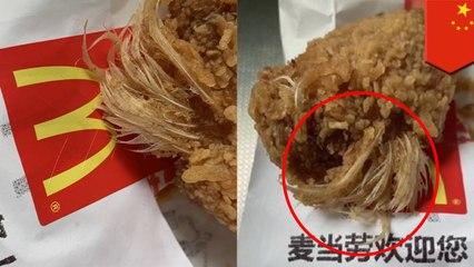 '중국남자, 양쯔강 2KM 헤엄쳐 출근','중국의 맥도날드 치킨윙에서 닭털 발견'외 5개