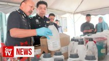 Drug processing lab in a cattle farm busted