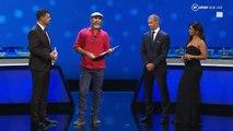 Regardez le discours du footballeur Eric Cantona lors du tirage de la Ligue des champions - VIDEO