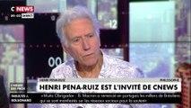 Propos sur l'islamophobie : le philosophe Henri Peña-Ruiz s'explique