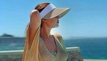 قبعة Visor تزيّن إطلالات النجمات والفاشينيستا في الصيف