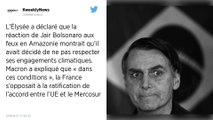 La France prête à retirer son veto au traité Mercosur si le Brésil respecte ses engagements climatiques