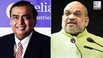 Mukesh Ambani Calls Amit Shah 'Iron Man Of India'