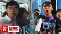 "Joshua Wong's political party says authorities spreading ""white terror"" with arrests"