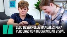 Lego desarrolla manuales de instrucciones para  personas con discapacidad visual