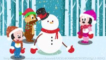 Cartoon for Kid | Kid Movies | Mickey mouse and minnie mouse meet snowman monster