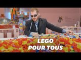 Lego teste des notices audio et en braille pour les personnes aveugles