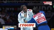 Madeleine Malonga en or en -78kg - Judo - Mondiaux