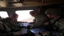 MSB: 'Suriye'de Fırat'ın Doğusunda Güvenli Bölge birinci safha uygulamaları kapsamında, Türk-ABD'li komutanların iştirak ettiği ikinci ortak helikopter uçuşu Türk Silahlı Kuvvetlerine ait iki helikopter ile gerçekleştirildi.'