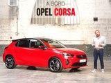 A bord de l'Opel Corsa (2019)
