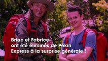 Briac et Fabrice éliminés de Pékin Express  Notre monde s'est écroulé