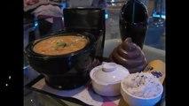 Mangez dans des cuvettes de WC au Restaurant Toilette à Taiwan