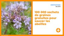 100 000 sachets de graines gratuites pour sauver les abeilles