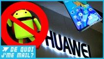 Le futur Mate 30 de Huawei privé des applis Google ?  DQJMM (1/2)