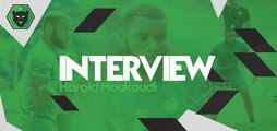Son choix de club, ses débuts à l'ASSE : Harold Moukoudi se confie