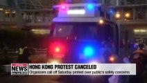 Hong Kong protests canceled as Joshua Wong arrested