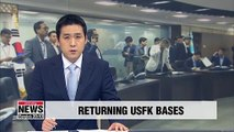 NSC vow to seek early return of USFK military bases