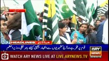 ARY News Headlines |Pakistan will continue support to Kashmiris| 7PM | 30 August 2019