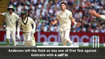 Anderson ruled out of last Ashes Tests