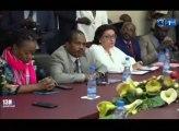RTG - Signature de la charte nationale du tourisme par le Ministre du tourisme, Justin NDOUNDANGOYE et les opérateurs économique du secteur