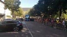 Le bus du PSG vient d'arriver